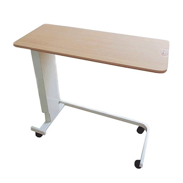 Height Adjustable Overbed Table with U Base - Lifeline Corporation