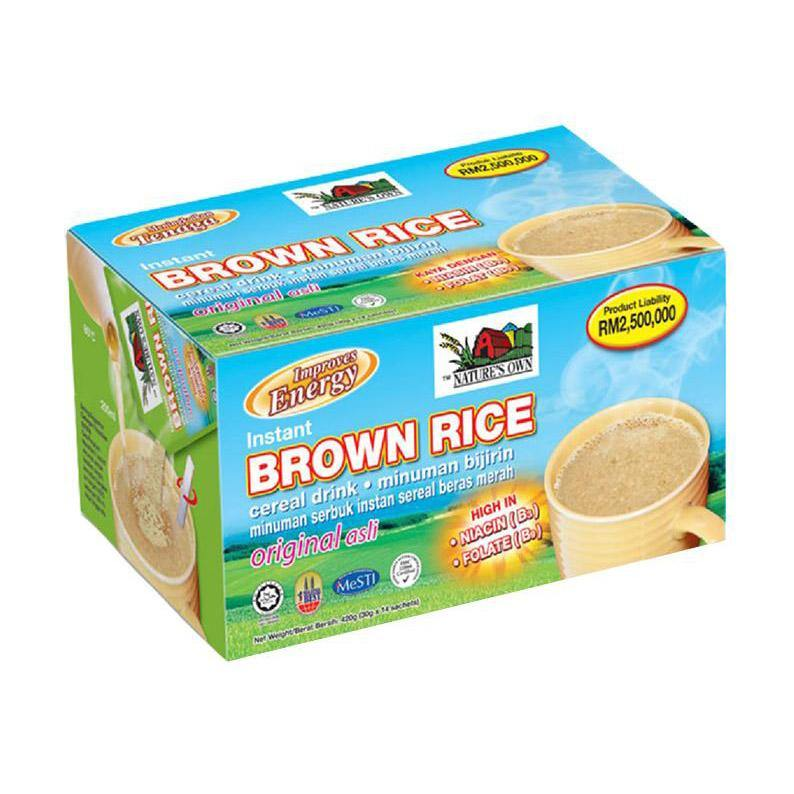 Instant Brown Rice Cereal Drink