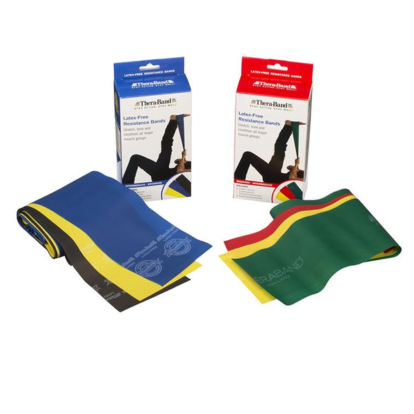 TheraBand Non-Latex Resistance Bands - Lifeline Corporation