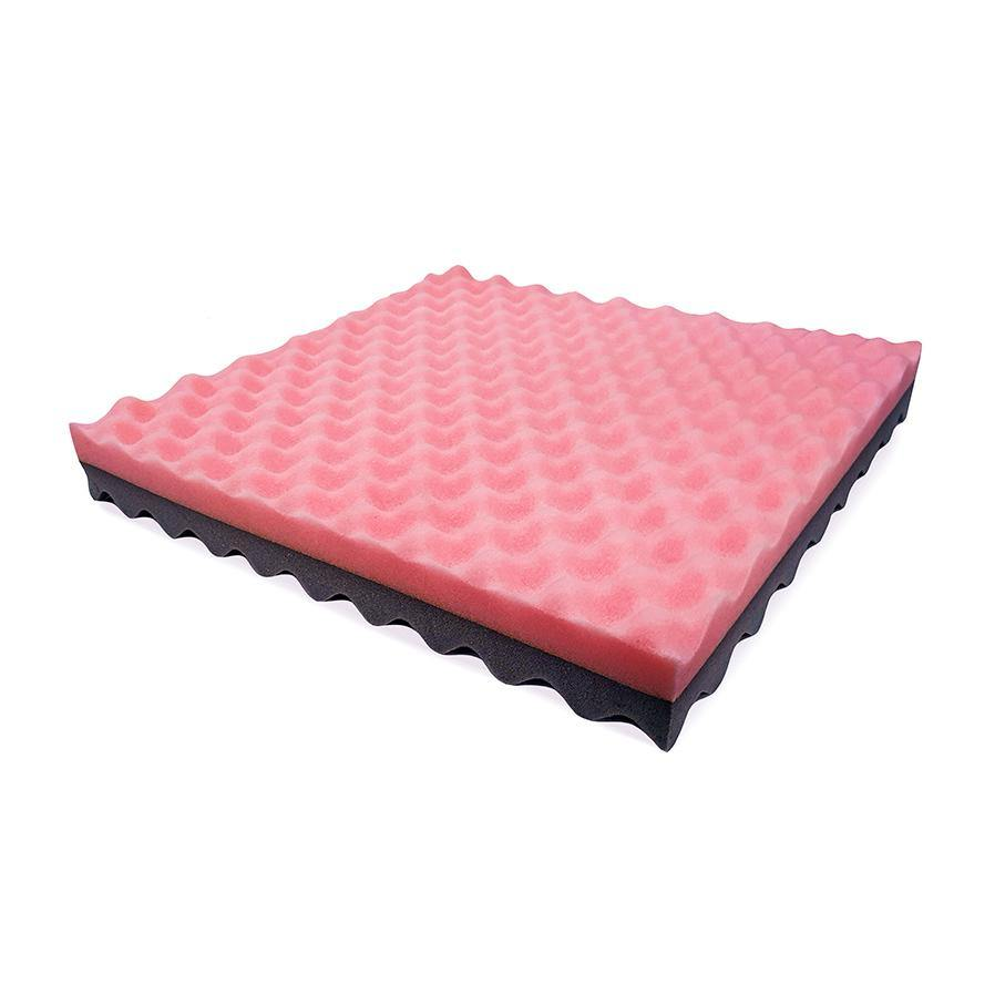 Memory Foam Wheelchair Cushion – Pink / Grey - Lifeline Corporation