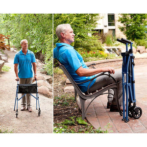 Stander EZ Fold-N-Go Walker - Lifeline Corporation