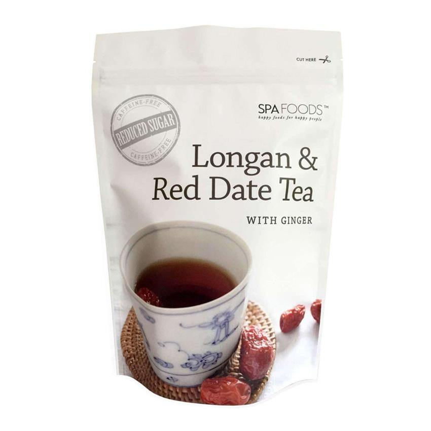Spa Foods Longan And Red Date Ginger Tea - Lifeline Corporation
