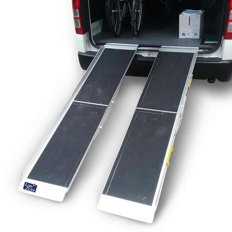 Aluminium Suitcase Ramp - Lifeline Corporation