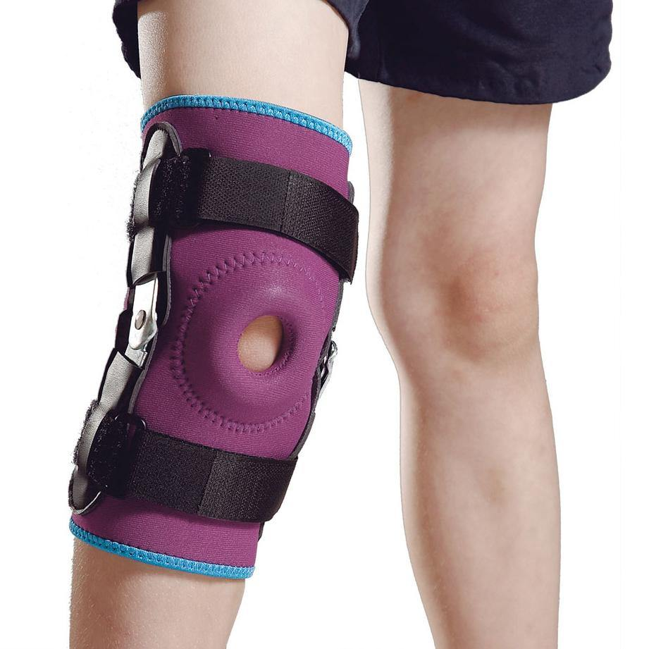Pediatric Neoprene Hinged Knee Support - Lifeline Corporation