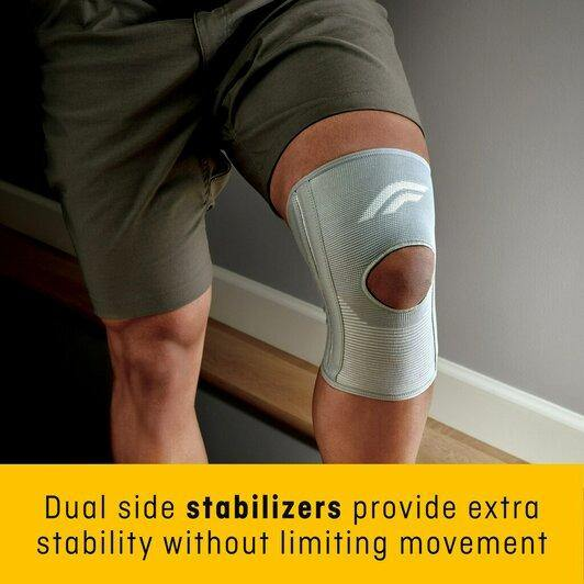 Futuro Comfort Knee with Stabilizers