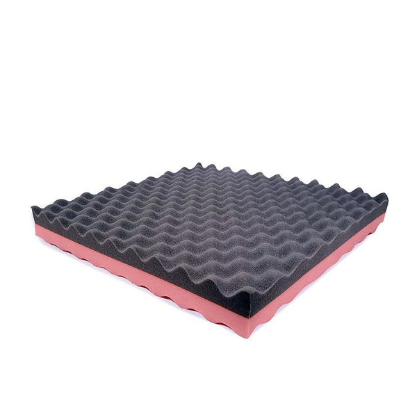 Memory Foam Wheelchair Cushion – Pink / Grey
