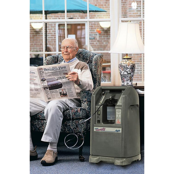 Oxygen Concentrator, Intensity Single Flow (10LPM 20PSI) - Lifeline Corporation