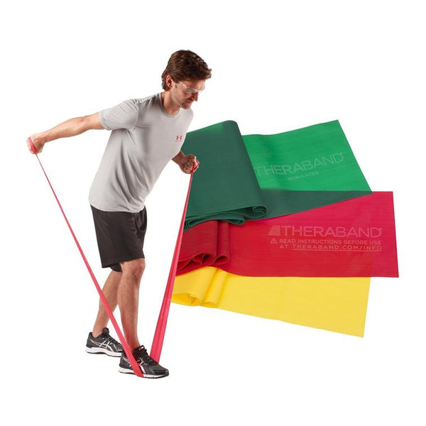 TheraBand Resistance Bands – 50yards / 45.7m - Lifeline Corporation