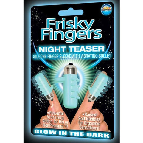 Frisky Fingers Glow In The Dark - VIBRATORS