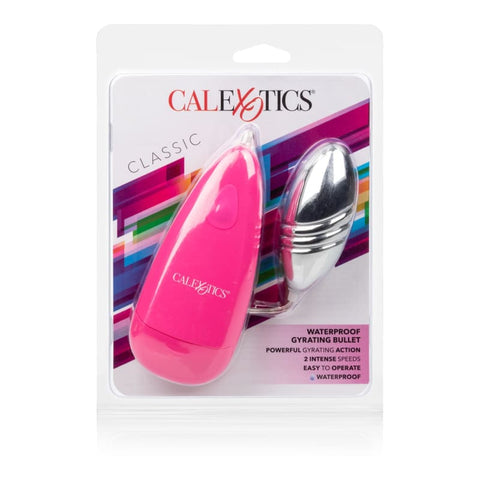 Waterproof Gyrating Bullet - Pink - BULLET VIBRATORS