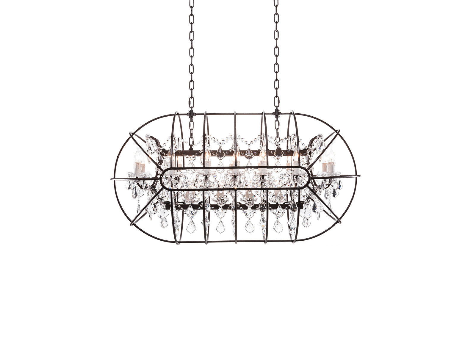 brizzo white silver chandelier chrome rectangular black gocce shade of crystal lighting lights modern picture string with stores