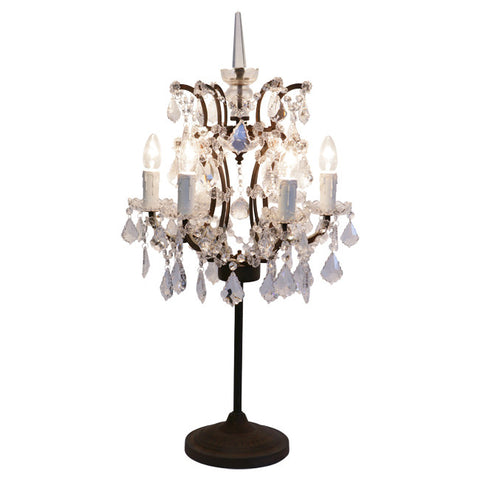 Crystal table lamp by timothy oulton dawson and co auckland
