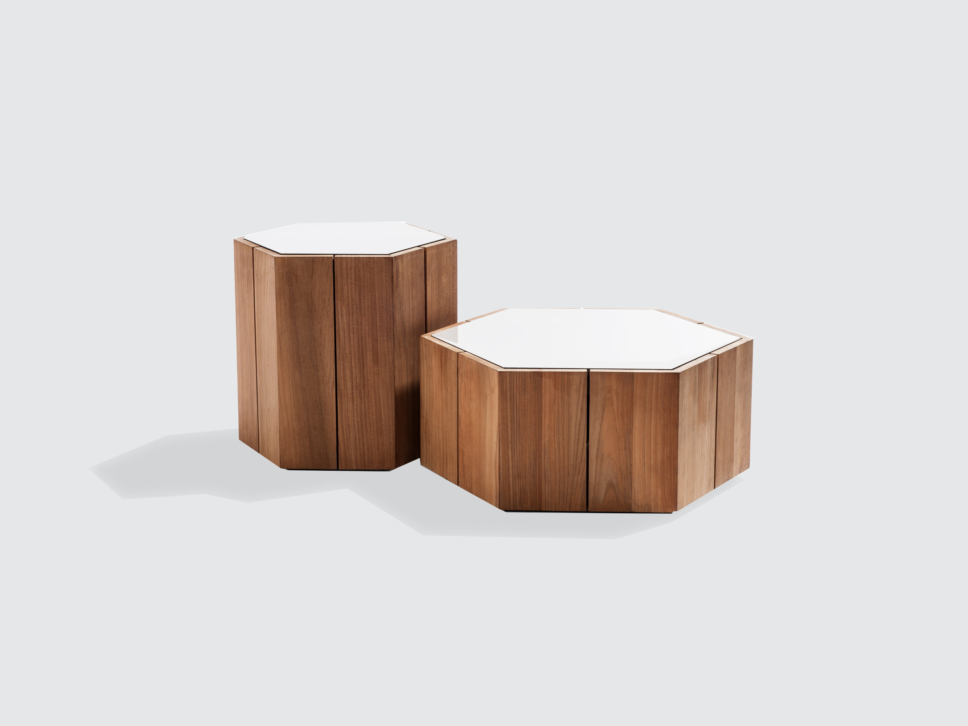 Hexagon Side Table By Tribu Dawson And Co Auckland Dawson Co