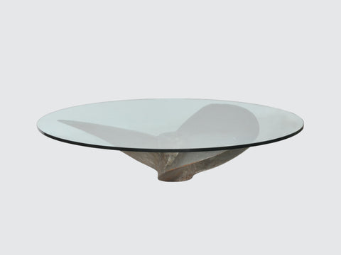 Junk_Art_Round_Coffee_Table_DawsonandCo_TimothyOulton