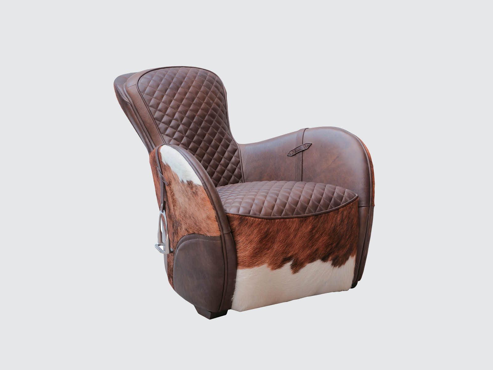Saddle Easy Chair by Timothy Oulton Dawson And Co