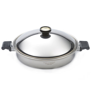 14″ Jumbo/Paella Skillet with Cover - WaterlessCookware