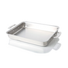 "Scratch and Sample 9"" x 13"" Stainless Steel Bake & Roast Pan - WaterlessCookware"