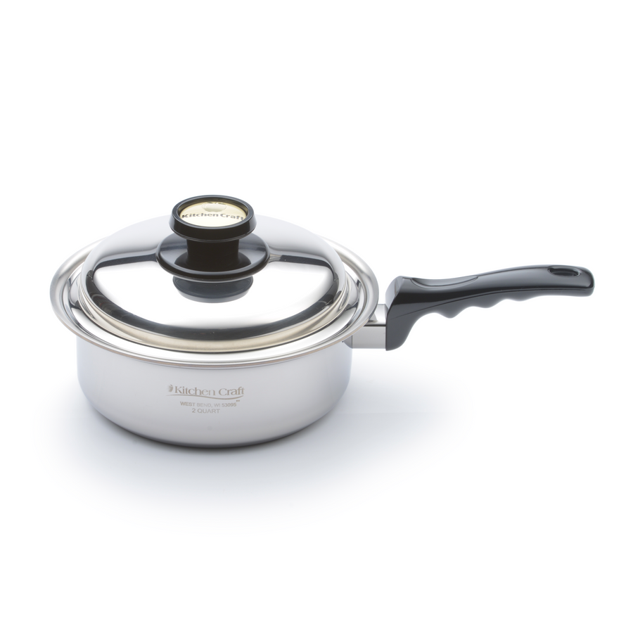2 Quart Saucepan - WaterlessCookware