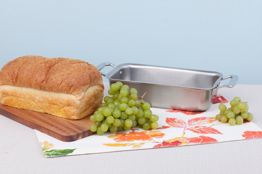 Multi Ply Stainless Steel Loaf Pan - WaterlessCookware