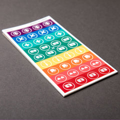 Event Stickers Pad – 36