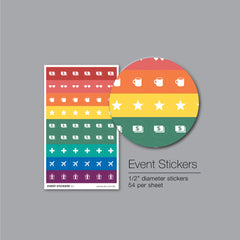Event Stickers Pad – 54