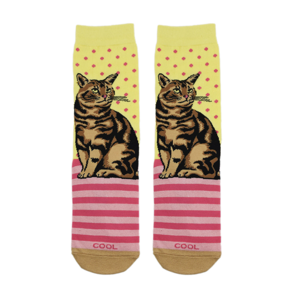 Tabby Cat Women's - ODD SOX