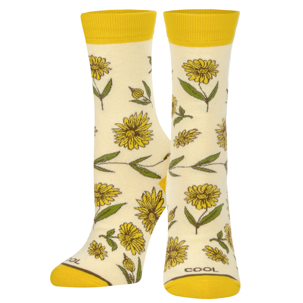 Sun Flower Women's - ODD SOX