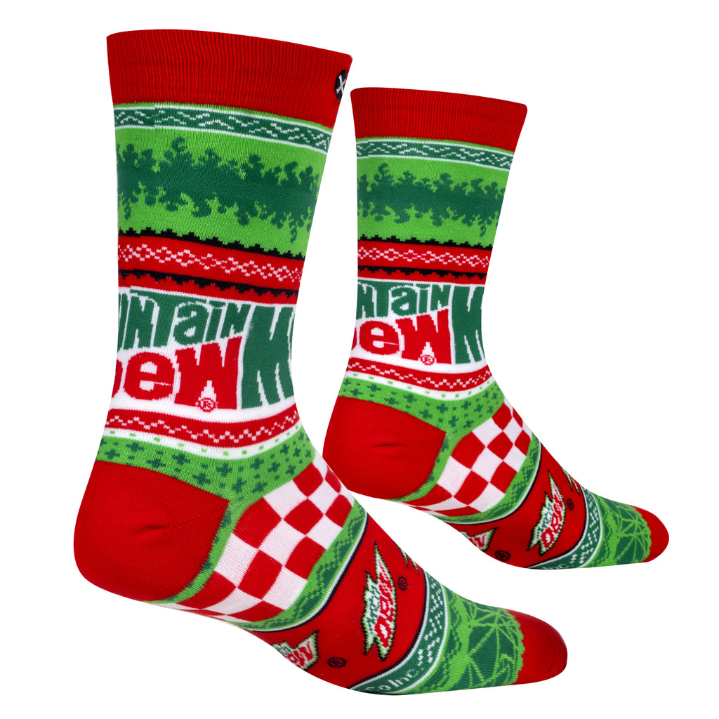 Mountain Dew Socks