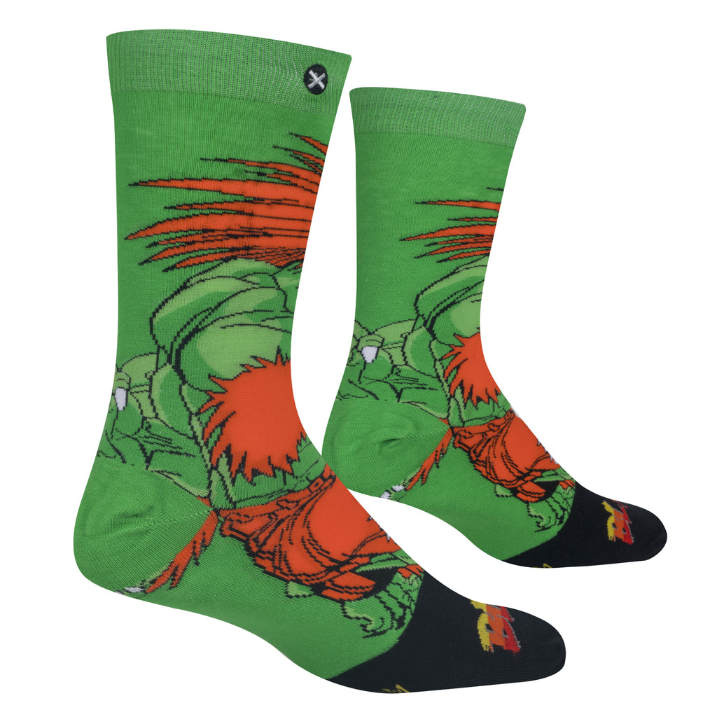 Blanka Street Fighter Socks