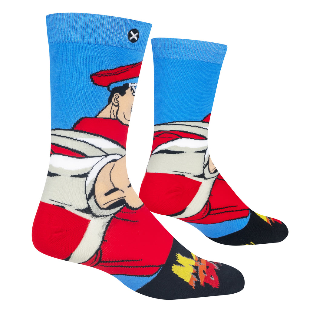 M Bison Street Fighter Socks