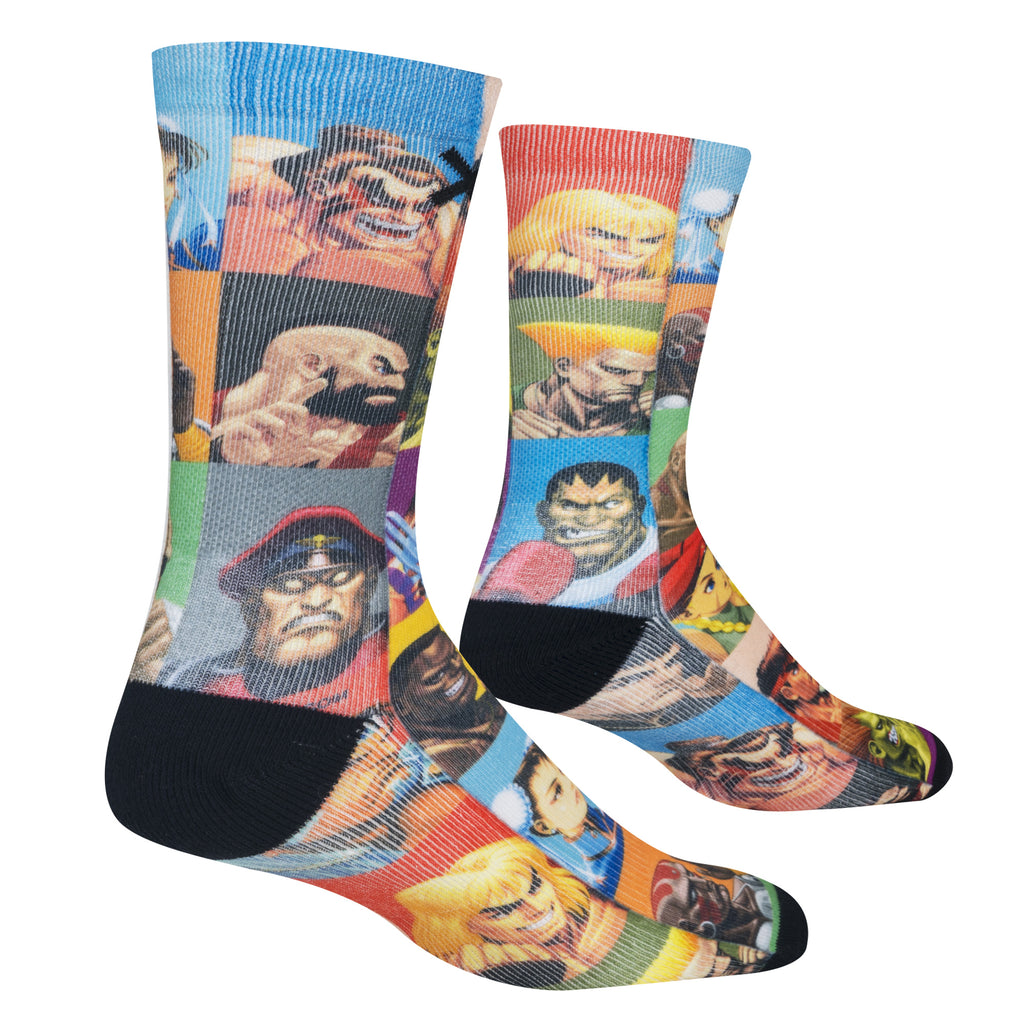 Select Your Fighter Street Fighter Socks