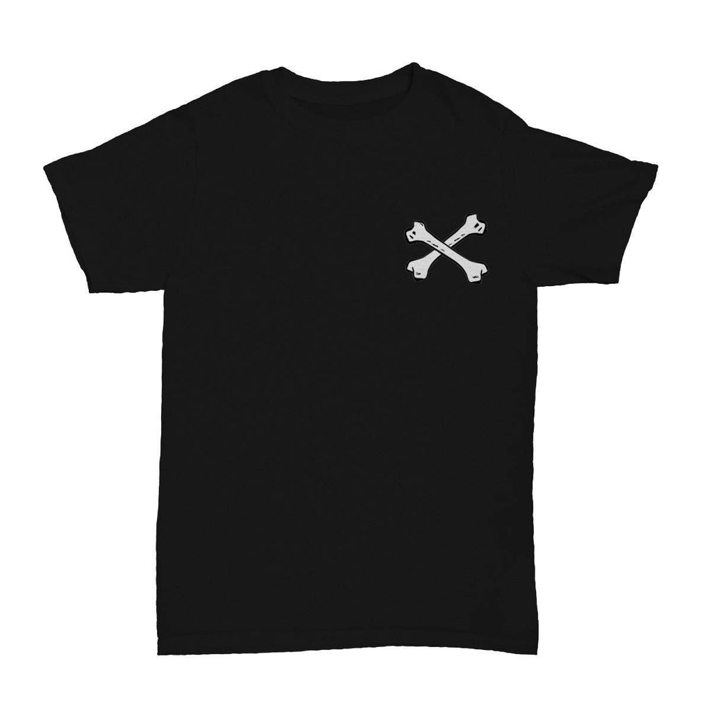 Bones T-Shirt Black - ODD SOX