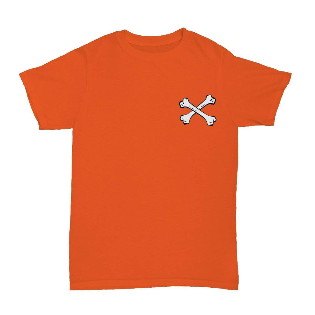 Bones T-Shirt Orange - ODD SOX