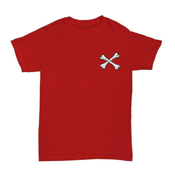 Bones T-Shirt Red - ODD SOX