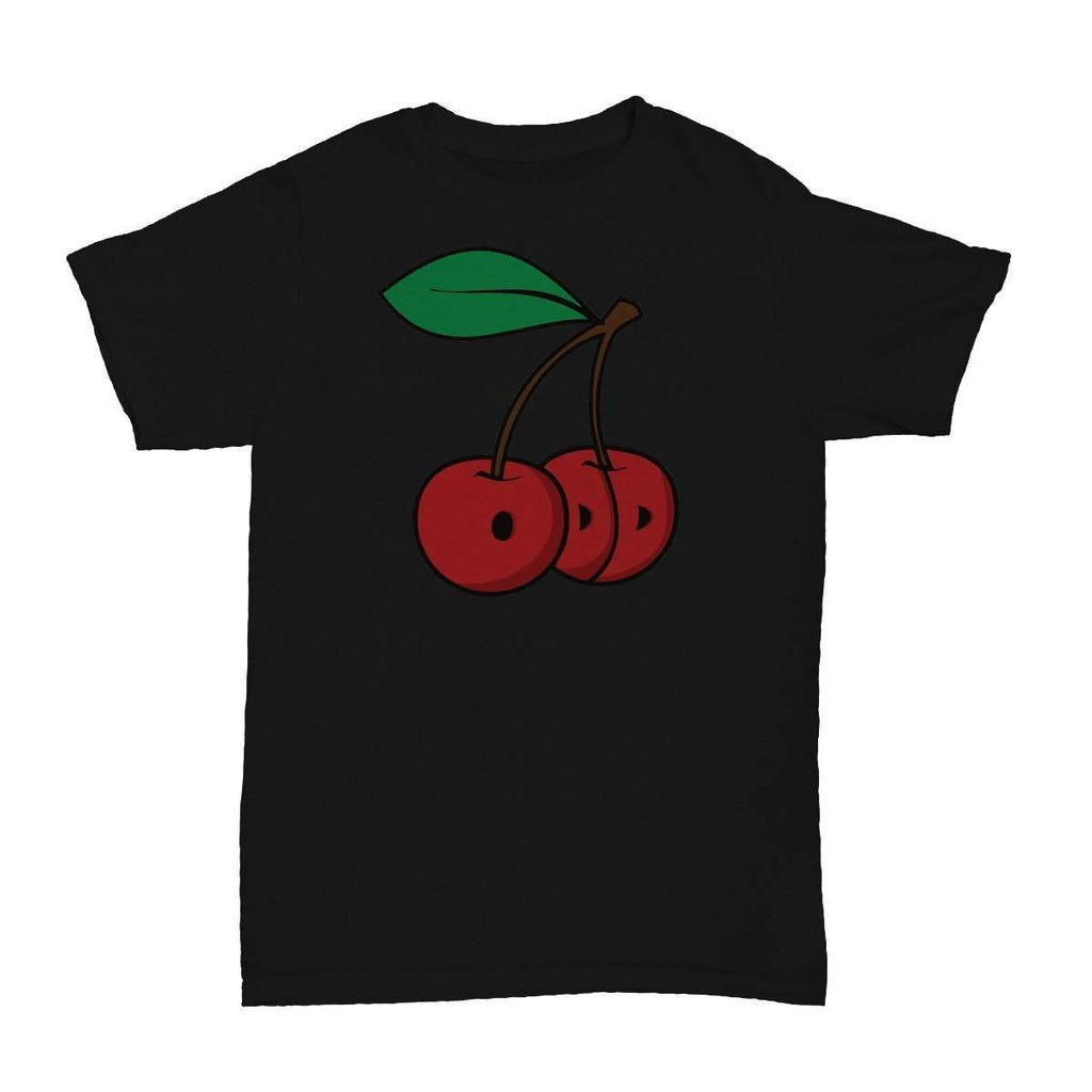 Cherries T-Shirt Black - ODD SOX