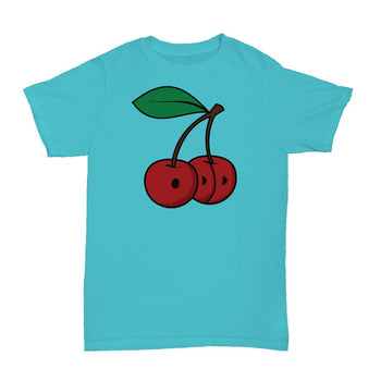 Cherries T-Shirt Teal - ODD SOX