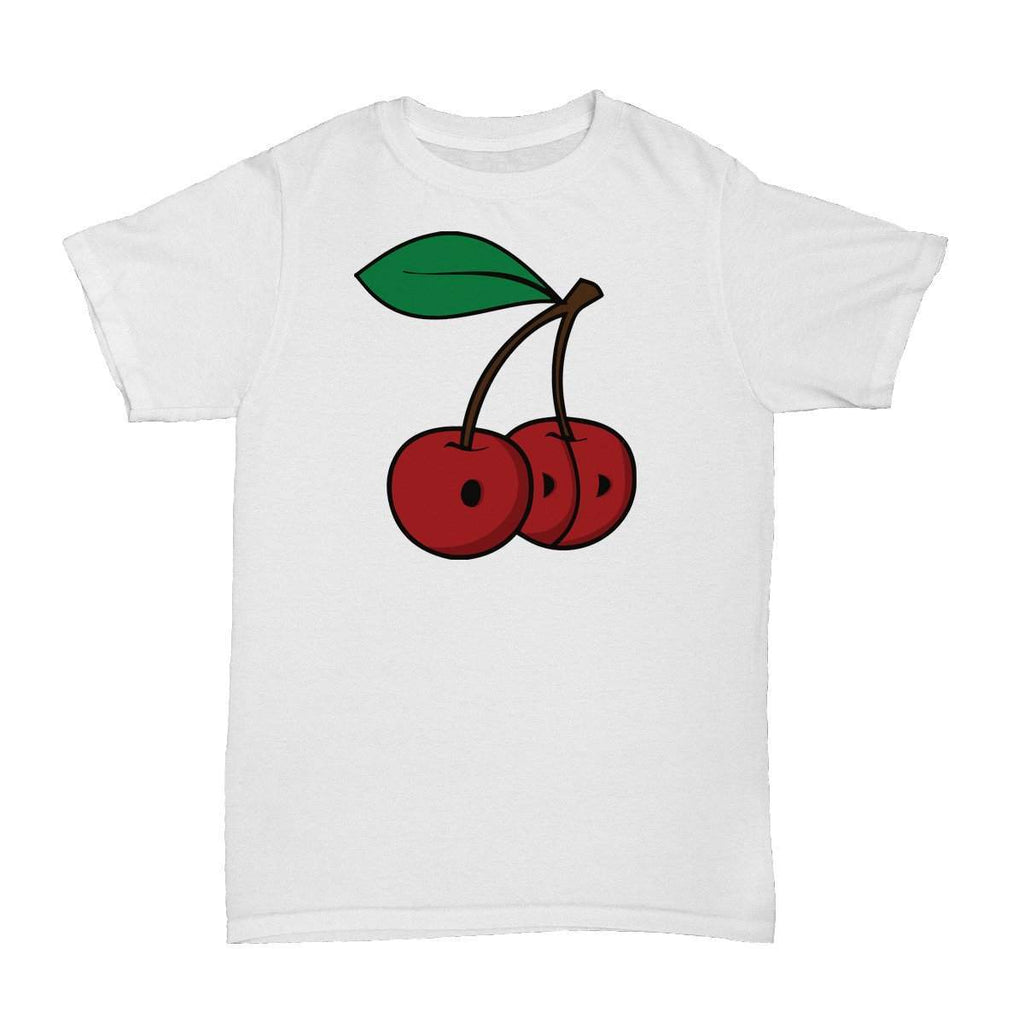 Cherries T-Shirt White - ODD SOX