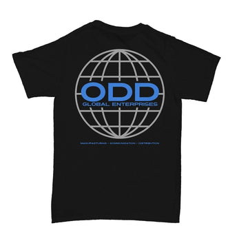 Global Enterprises T-Shirt Black - ODD SOX