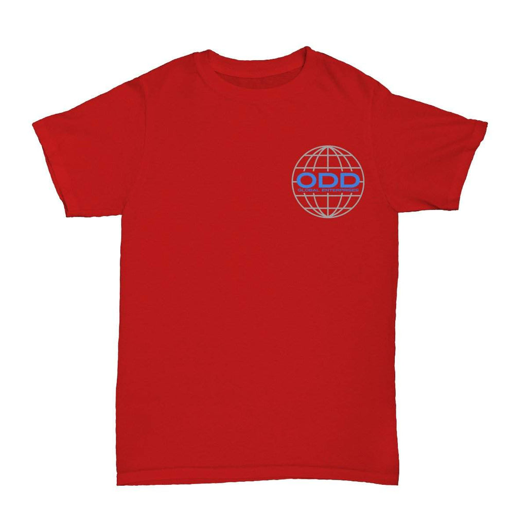 Global Enterprises T-Shirt Red - ODD SOX