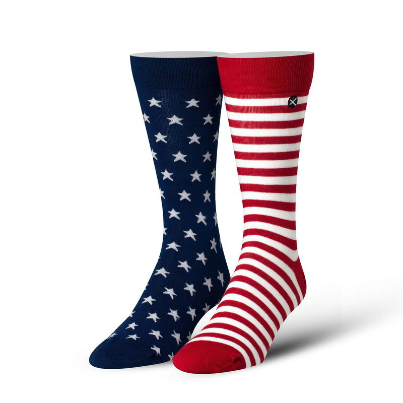 USA Flag Dress Socks