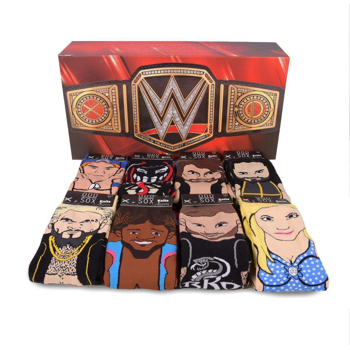WWE Smackdown Superstars Gift Set - ODD SOX