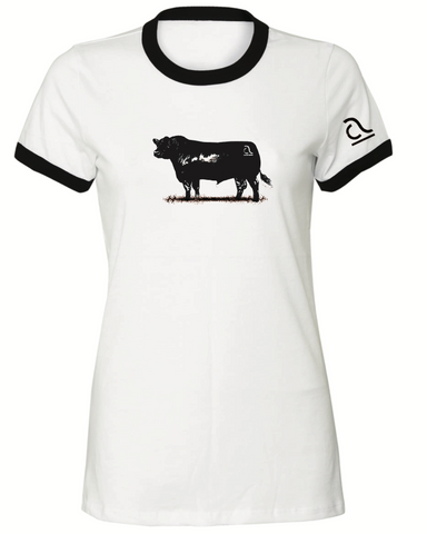 Junior Ladies Vintage Bull Tee