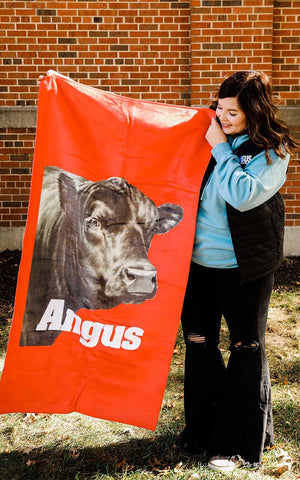 Angus Beach Towel