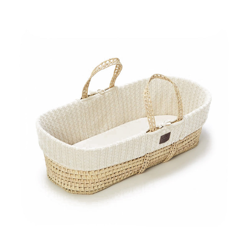 Moses Knitted Basket & Mattress