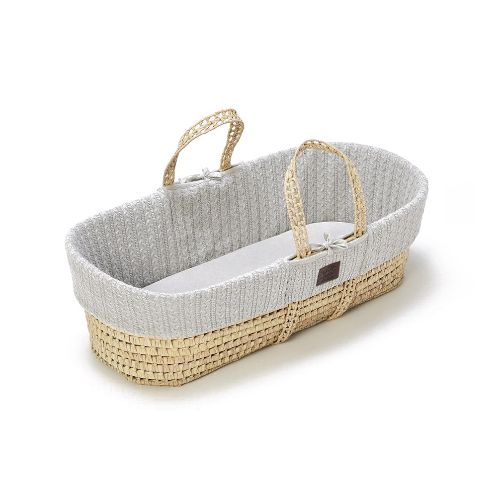 Moses Knitted Basket Amp Mattress Sniggles