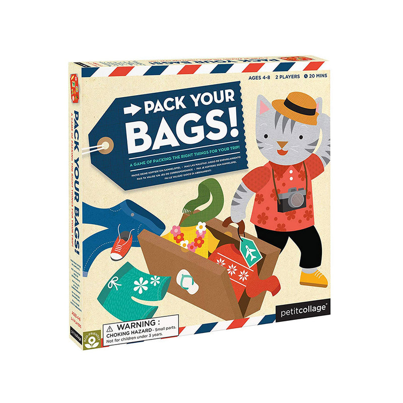 Petit Pack Your Bags Board Game
