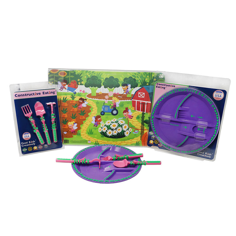Constructive Eating Fairies Set
