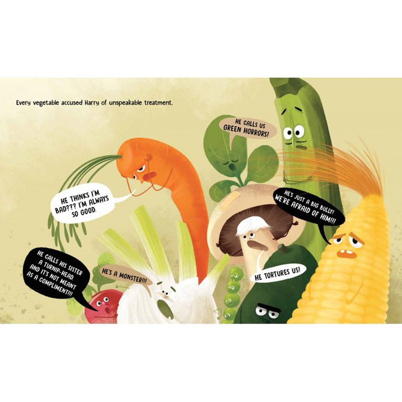 Sassi Picture Book Angry Vegetables