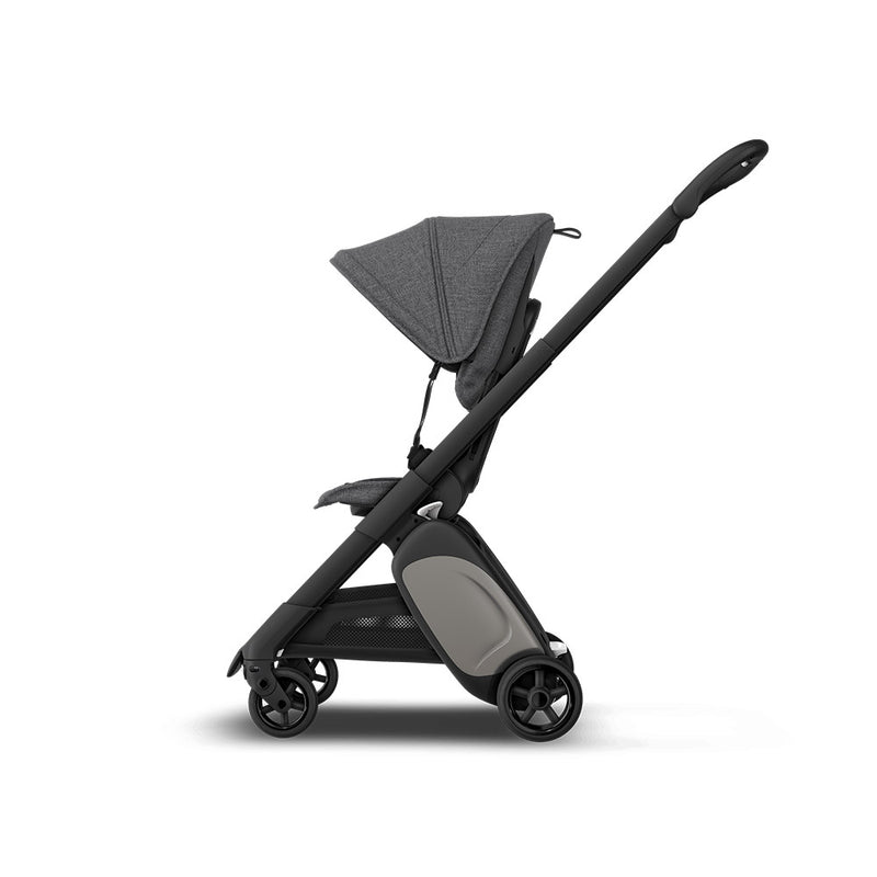 Bugaboo Ant Base Black / Style Set - Grey Mélange
