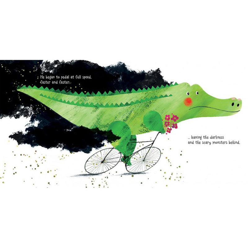 Sassi Picture Book Crocodile On A Bicycle
